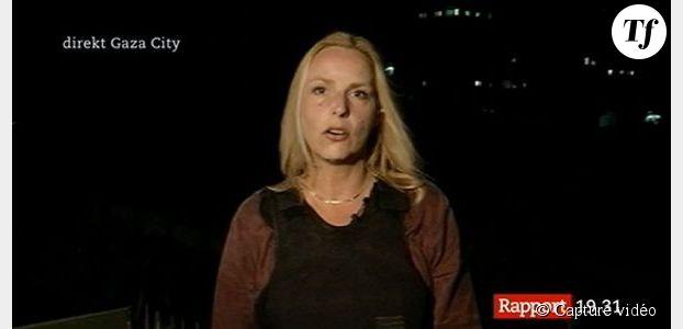 Israël : un missile s'abat derrière une journaliste en plein direct - vidéo