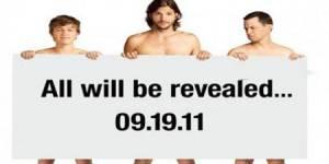 « Mon Oncle Charlie » : Ashton Kutcher nu pour la promo de la prochaine saison