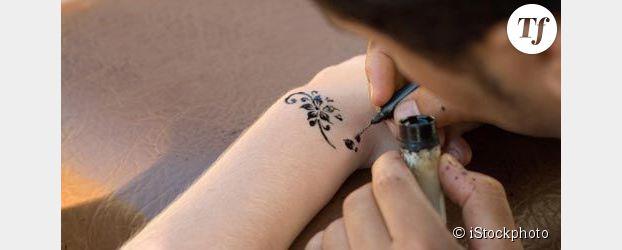 Alerte sur les tatouages au henné noir