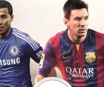 FIFA 15 : Eden Hazard avec Lionel Messi sur la jaquette française