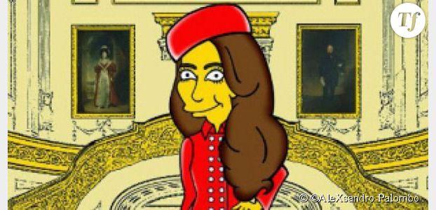 Les Simpson : Kate Middleton devient jaune