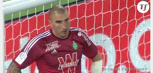 PSG-St-Etienne : revoir la bourde de Stéphane Ruffier (Vidéo)