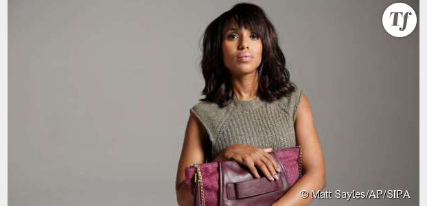 Kerry Washington : un sac pourpre contre les violences conjugales