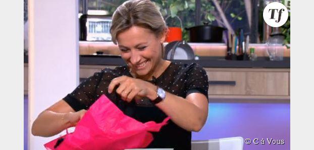 Anne-Sophie Lapix : quand Roselyne Bachelot lui offre un string en direct (Vidéo)