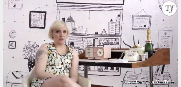 """""""Ask Lena"""" : la web-série funky de Lena Dunham"""