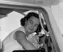 Le dernier vol de Jerrie Mock, première femme à avoir fait le tour du monde