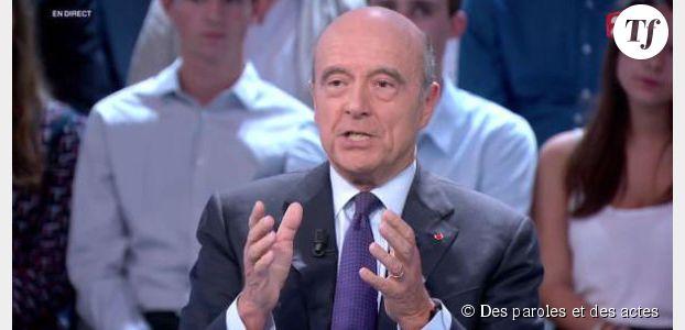 Des paroles et des actes : Alain Juppé au bord des larmes sur France 2 Replay / Pluzz