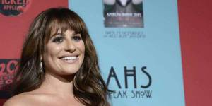 Lea Michele : la star de Glee s'engage contre le cancer du sein