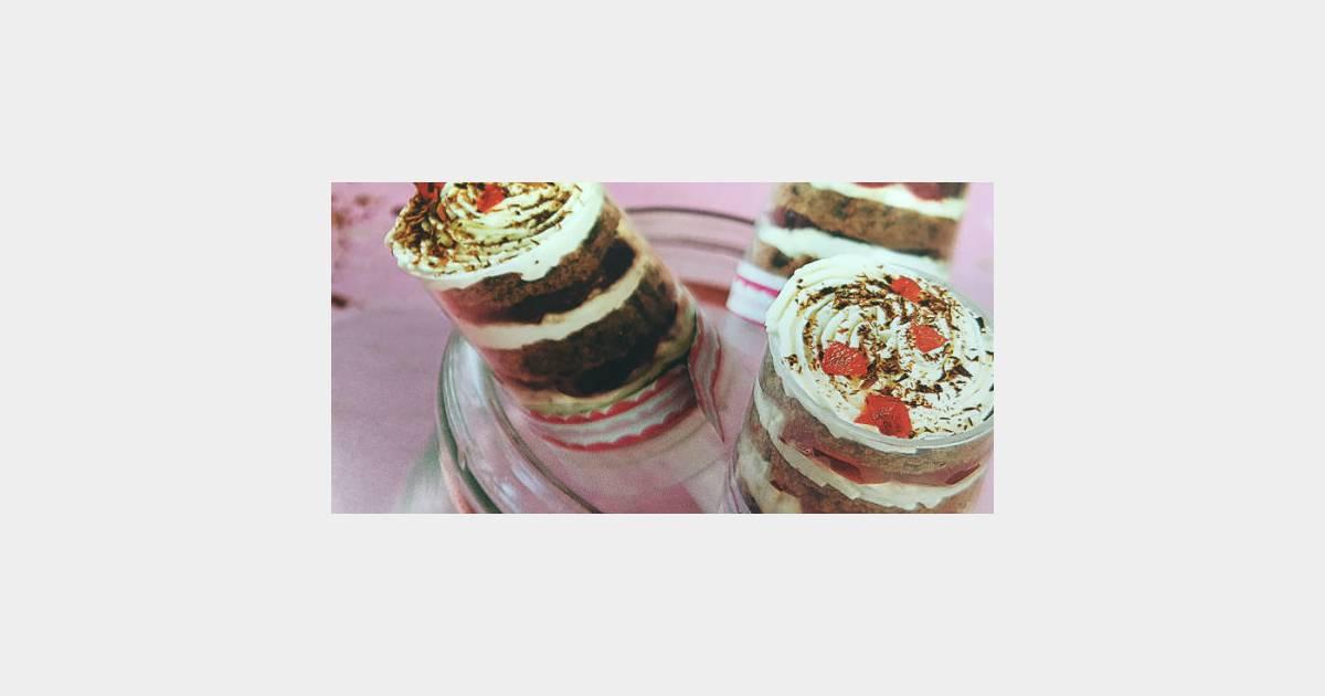 Push Cakes : la recette gourmande façon forêt-noire