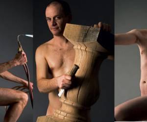 Les artisans se dénudent pour promouvoir leur savoir-faire auprès des femmes
