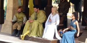 Game of Thrones Saison 5 : une photo de tournage avec Tyrion et Daenerys (spoiler)