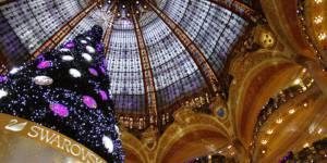 Les plus jolies vitrines de Noël à Paris
