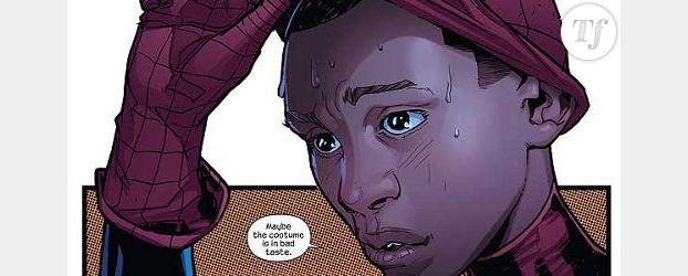 Marvel crée un nouveau Spiderman… Et il est noir !