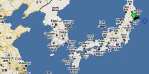 Japon : violent séisme au large de Fukushima