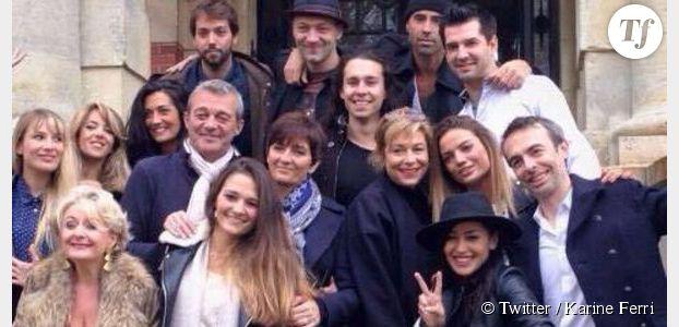 Gregory Lemarchal Les Anciens De Star Academy Et Karine Ferri Lui