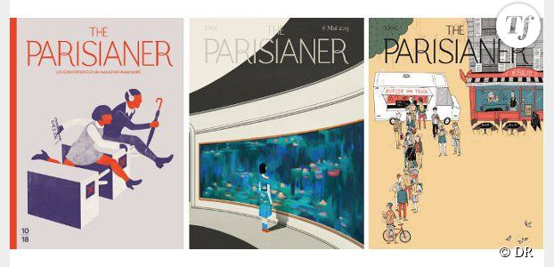 The Parisianer : Paris en 100 dessins drôles, poétiques et émouvants