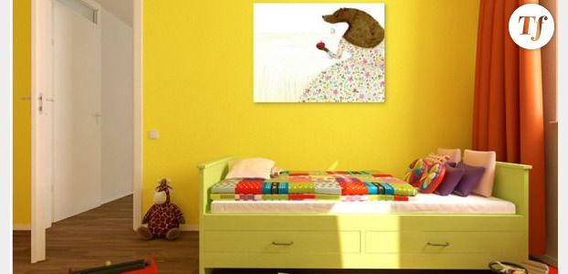chambre enfants couleurs idees deco accueil design et mobilier. Black Bedroom Furniture Sets. Home Design Ideas