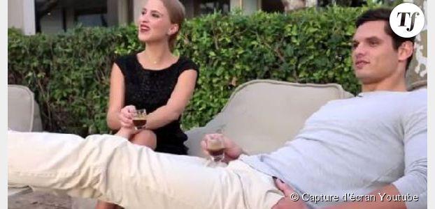 Titoff et Florent Manaudou parodient Jean Dujardin, George Clooney et Nespresso
