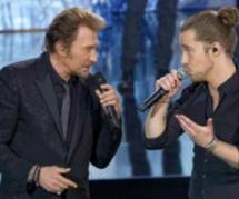 Replay : Johnny Hallyday chante en duo avec Kendji Girac et Julien Doré
