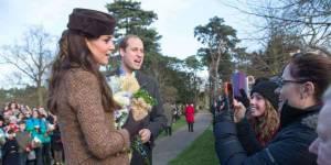 Kate Middleton : la duchesse à la messe de Noël sans le prince George