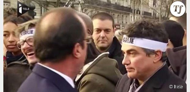 """Luz : Charlie, Hollande, le pigeon et """"la meilleure des blagues"""""""