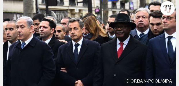 Marche républicaine : le manège de Nicolas Sarkozy pour apparaître sur la photo historique