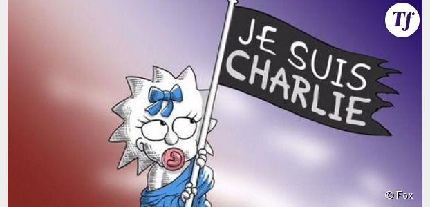 Charlie Hebdo : l'hommage des Simpson à la France