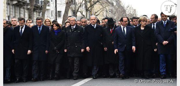 Marche républicaine : un journal israélien vire Merkel et Hidalgo de la photo