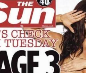 """Les seins nus en Page 3 du """"Sun"""", c'est (enfin) fini"""