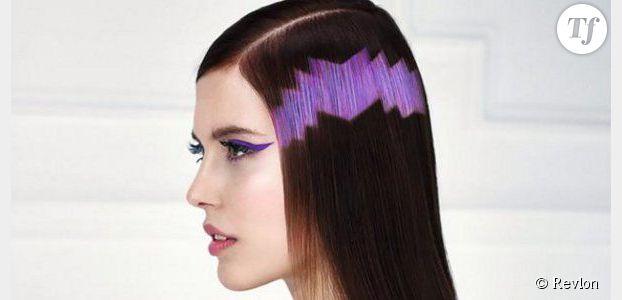 Le pixel hair : la tendance cheveux 2015 pour geeks coquettes