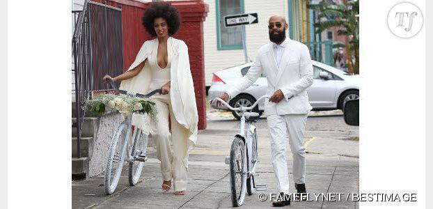 Mariage : et si on disait oui en combinaison (short ou pantalon) ?