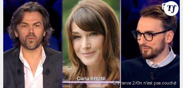 """ONPC : Aymeric Caron trouve que Carla Bruni a """"vingt mots de vocabulaire"""""""