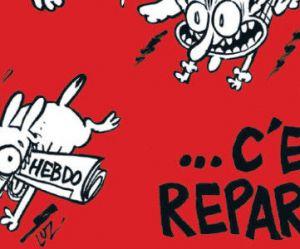 """Charlie Hebdo : """"C'est reparti"""", la nouvelle Une"""