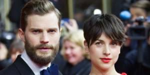Jamie Dornan ne va pas quitter  « 50 Shades of Grey » pour sa femme Amelia Warner