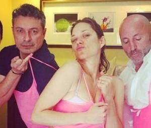 Marion Cotillard : avant les Oscars, elle poste une photo très amusante sur Instagram