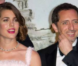 Charlotte Casiraghi et Gad Elmaleh : un couple glamour aux Oscars 2015