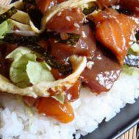 Les d lices de la cuisine japonaise chirashi sushi - Cuisine japonaise sante ...