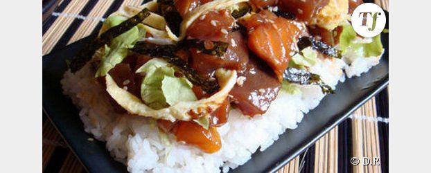 les d lices de la cuisine japonaise chirashi sushi. Black Bedroom Furniture Sets. Home Design Ideas