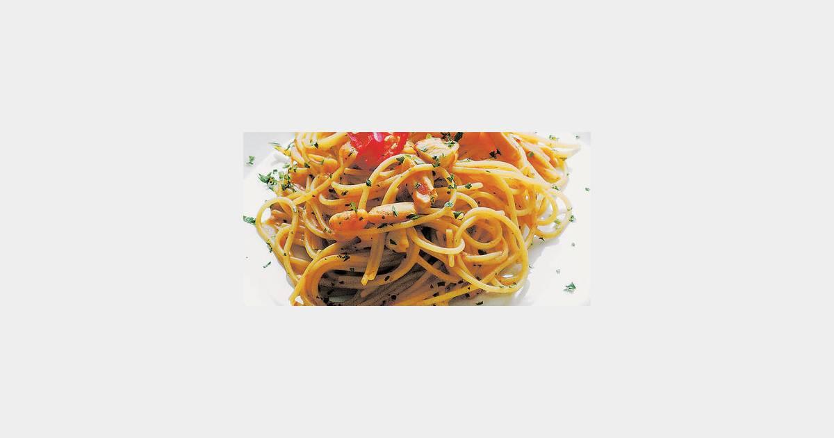 Spaghetti aux fruits de mer terrafemina - Spaghetti aux fruits de mer ...