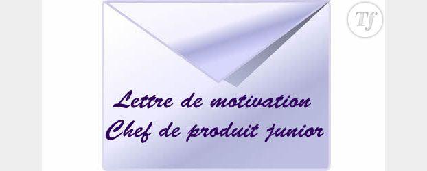 Rédiger Une Lettre De Motivation Chef De Produit Junior