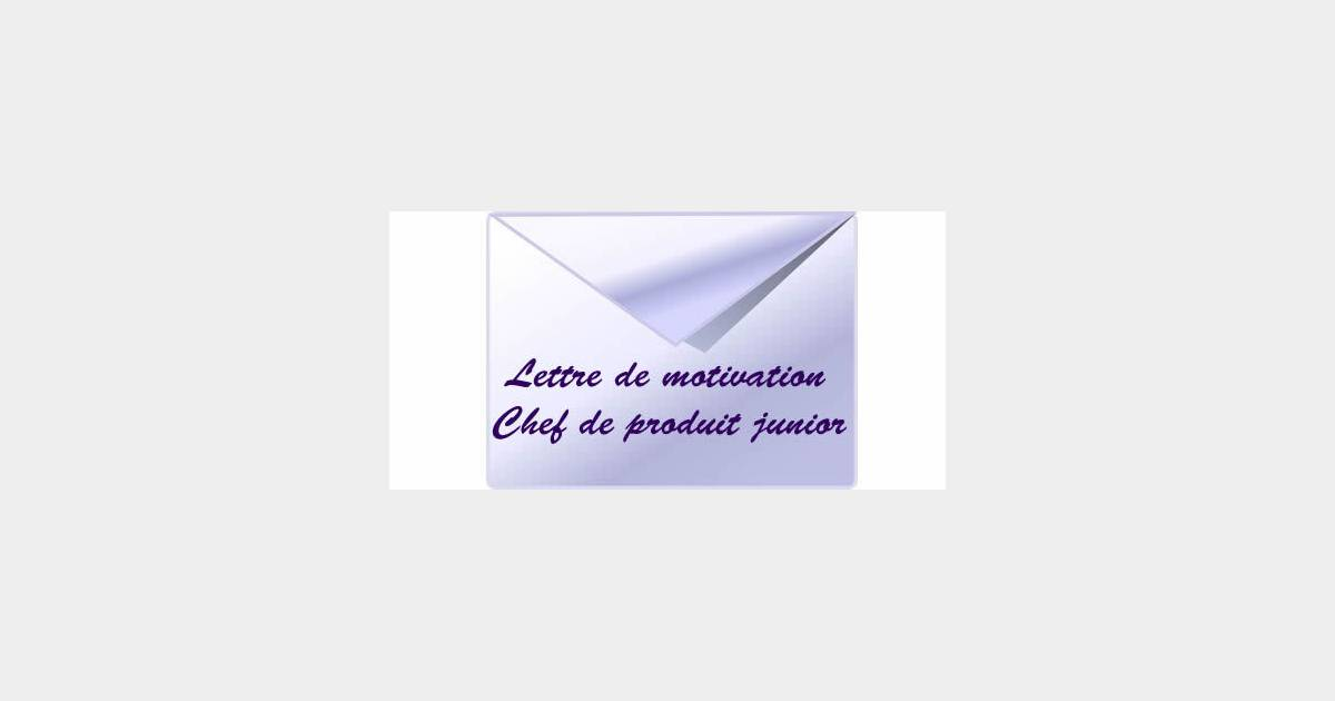 lettre de motivation manager commercial junior