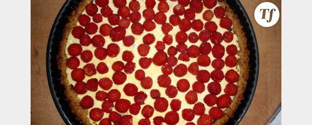Recette concours : Tarte aux framboises et au fromage blanc