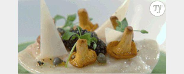 Recette des chefs : Les ravioles de langoustine de Frédéric Anton