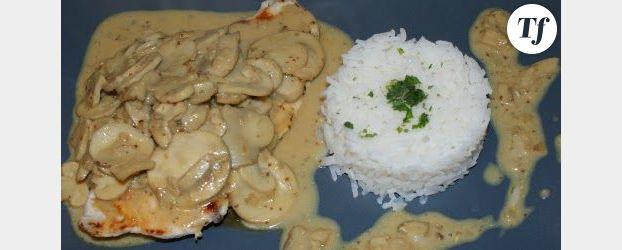 Boulettes de viande sauce moutarde-curry