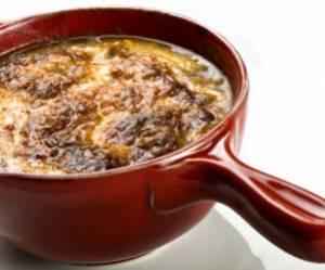 Recette concours : Soupe gratinée à l'oignon
