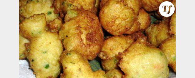 Beignets de crabe sauce moutarde/agrumes