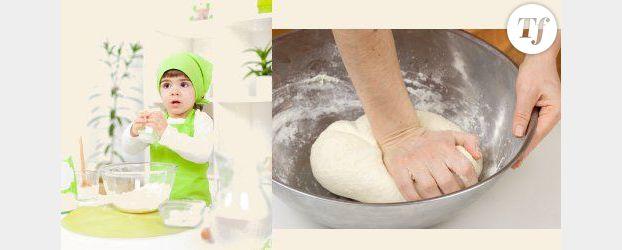 La recette de la pâte à sel –vidéo