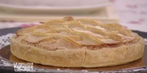 M6 - Le Meilleur pâtissier : recette de la tarte conversation