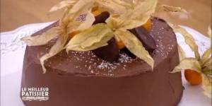 M6 - Le Meilleur pâtissier : recette du gâteau extra chocolat de Sylvie