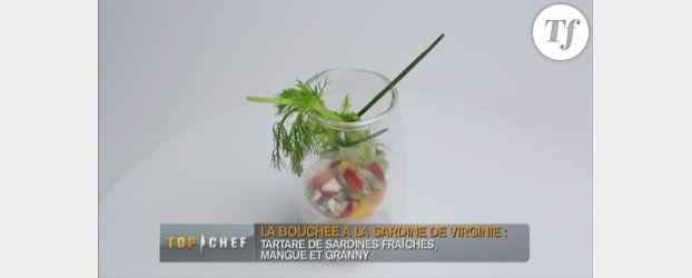 M6 - Top Chef 2013 : recette du Tartare de sardine à la mangue